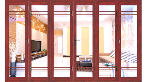 cửa nhôm hệ xingfa vân gỗ