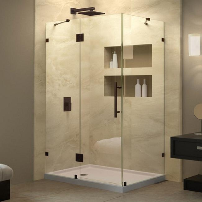 Cabin vách kính phòng tắm đẹp
