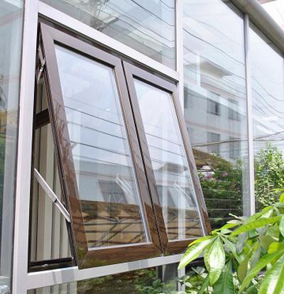 Mẫu cửa sổ nhôm kính 2 cánh đẹp