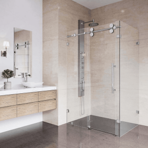 Các quy tắc lắp đặt vách kính cường lực nhà tắm bạn phải biết
